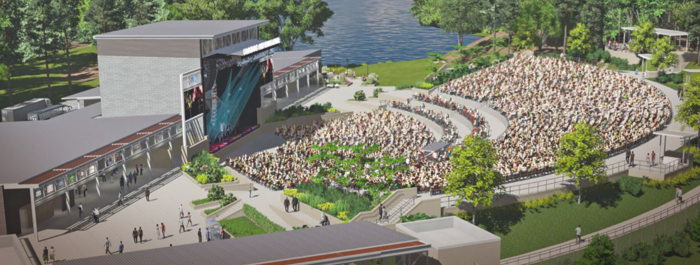 Brandon Breaks Ground On The New Amphitheater And Park