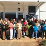 042 Cafe Cuts Ribbon in Downtown Brandon